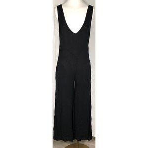 One Teaspoon Small Black Pant Romper Jumpsuit